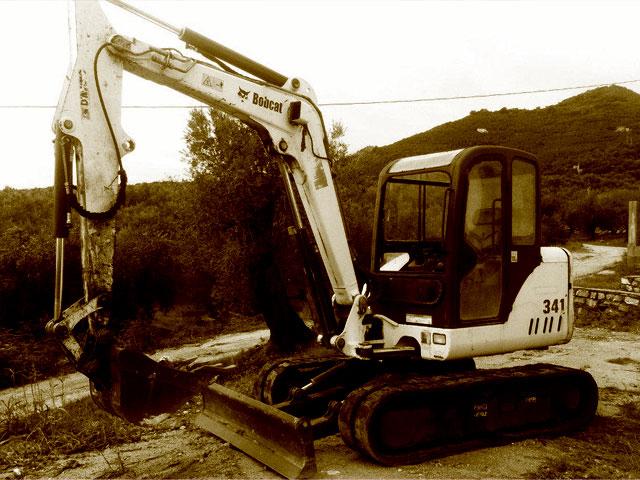 Miniescavatori Bobcat usati