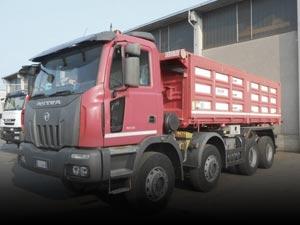 Camion cava cantiere usati
