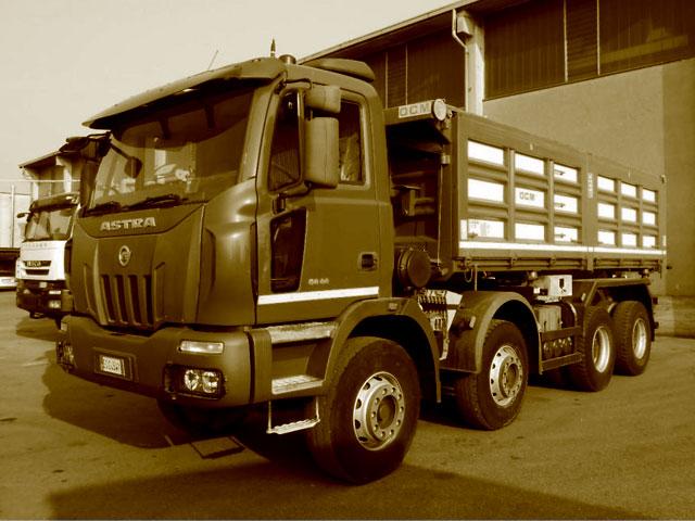 Camion Cava / Cantiere usati in vendita