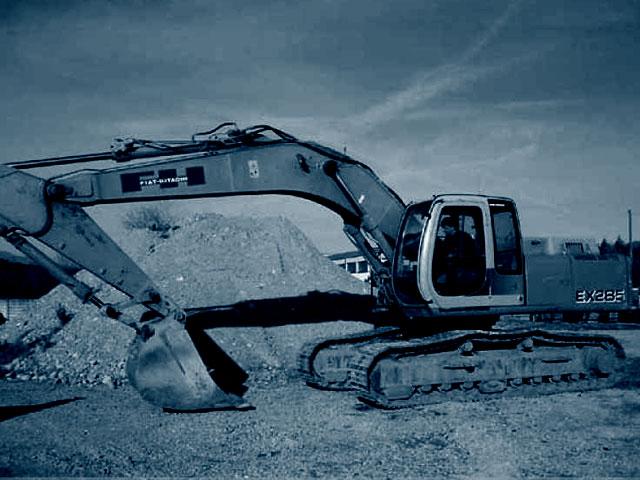 Escavatori Cingolati 300 Q.li usati in vendita