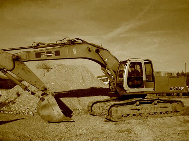 Escavatori Fiat Hitachi usati