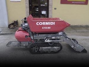 Motocarriole e minidumper usati