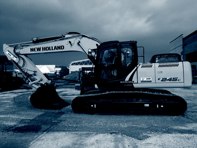 Escavatori New Holland usati