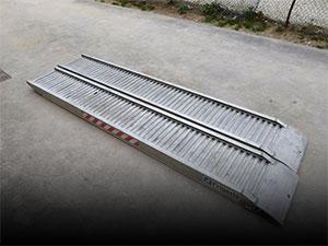 Rampe alluminio usate