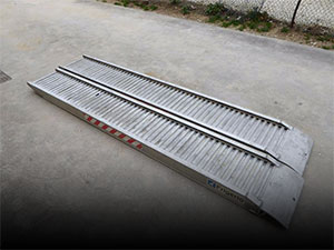 Rampe in alluminio usate in vendita