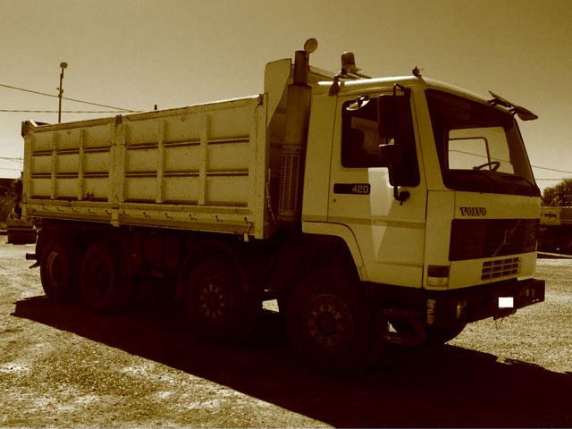 Dumper e Camion Volvo usati