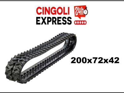 Cingolo compatibile 200x72x42