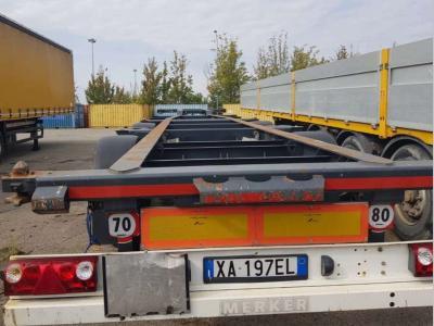 Merker Semirimorchio portacontainer in vendita da Bartoli Rimorchi S.p.a.
