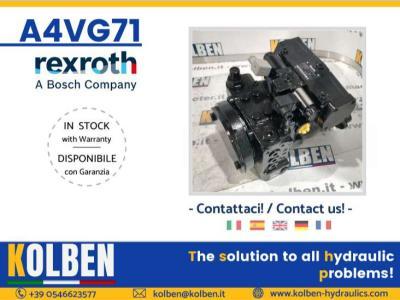 Rexroth A4VG71DA1D7/32R-NZF02F021SH in vendita da Kolben s.r.l.