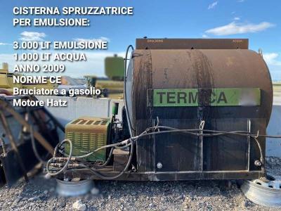 Cisterna (attrezzatura) in vendita da BITONTE Srls