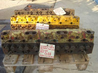 Testata motore per Fiat OM CP3/100