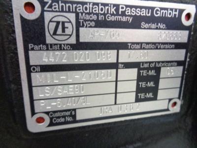 Assale Posteriore per ZF AP-765 in vendita da PRV Ricambi Srl