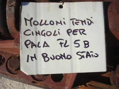 Molla tendicingolo per Fiat Allis FL5B E APRIPISTA FD5 in vendita da OLM 90 Srl