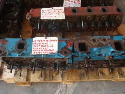 Testata motore per Fiat 8205.02 in vendita da OLM 90 Srl