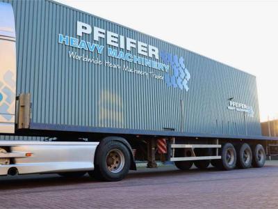 Groenewegen DRO-12-27 3 Axle Trailer in vendita da Pfeifer Heavy Machinery