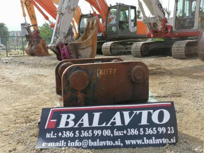 Universal attachment plates Attacco rapido