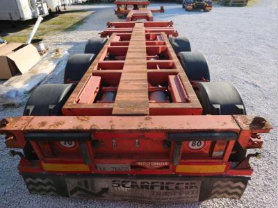 Broshuis portacontainer in vendita da Bartoli Rimorchi S.p.a.