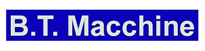 Logo  B.T. Macchine